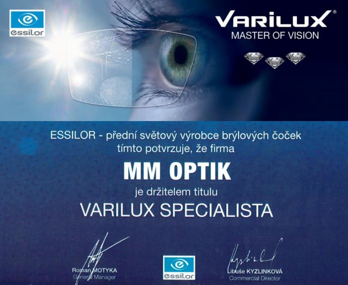 f714ad788 MM Optik Praha 1 Zkušenosti - Jak vybírat dioptrické brýle Multifokální  brýle Oční optika Essilor Multifokály poradenství akce sleva