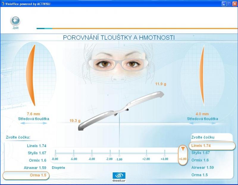 a90609ede MM Optik Praha 1 Varilux Starter Oční optika Multifokální brýle ...